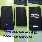 Samsung Galaxy A50 Vor- und Nachher