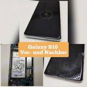 Galaxy S10 Vor- und Nachher