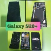 Samsung Galaxy S20+ VOR- und NACH der Reparatur