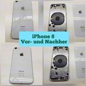 Apple iPhone 8 Rückglas Reparatur